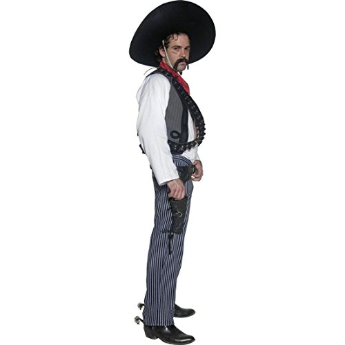 Imagen de poncho mexicano disfraz méxico traje bandido alternativa