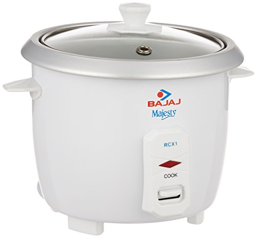 Bajaj Majesty RCX 1 Mini 0.4-Litre 200-Watt Multifunction Rice cooker