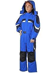 Invierno Schluss venta | peem Traje de esquí para niños LB1310116–140, invierno, niño, color Azul - azul, tamaño 8 años (128 cm)