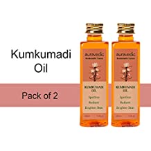 Auravedic Kumkumadi oil (pack of 2), 100ml each