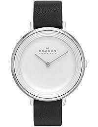 Skagen Damen-Armbanduhr Analog Quarz Leder SKW2261