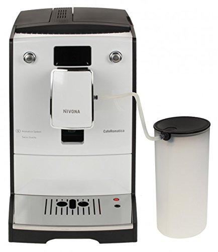 Nivona CafeRomatica 760 Libera installazione Automatica Macchina per espresso 2L 2tazze Cromo, Bianco