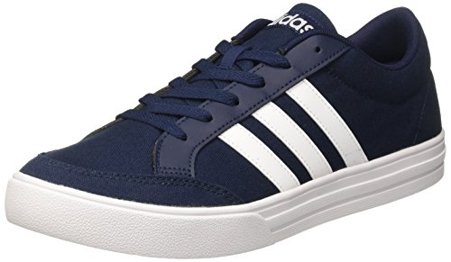 innovative design a0f60 956a1 Adidas Vs Set, Zapatillas de Deporte para Hombre, Azul (Collegiate Navy  FTWR White