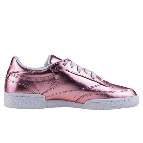 Reebok Damen Club C 85 S Shine Tennisschuhe Gold (copperwhite)