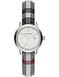 Burberry Reloj la correa de tela redondo 32 mm