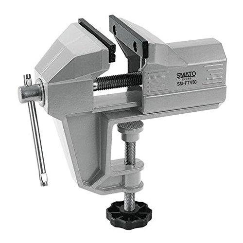 HW Aluminium Tisch Bank Schraubstock schwenkbar Lock Schreibtisch Klemme Handwerk Hobby Handwerk Repair Tool (65 mm/2,6 Zoll) -