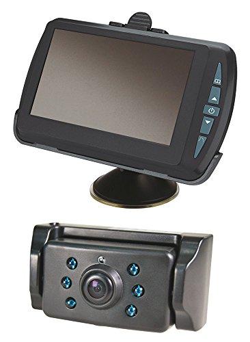 Digitales, kabelloses Rückfahrsystem, mit 4,3-Zoll-Bildschirm von Ring Automotive