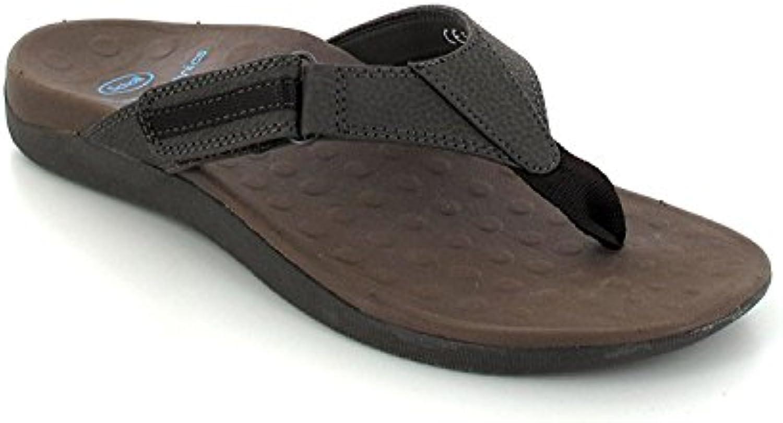Scholl taglia 43 Marroneee scuro biomeccanica Ryder Orthaheel scarpe da uomo | Buona reputazione a livello mondiale  | Sig/Sig Ra Scarpa