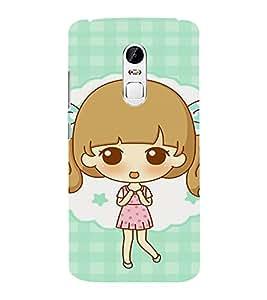EPICCASE Excited Little Girl Mobile Back Case Cover For Lenovo Vibe X3 (Designer Case)