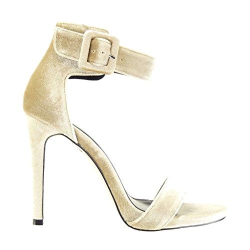 caee42c700ad5 ... Angkorly Damen Schuhe Sandalen Pumpe - Stiletto - Sexy - String Tanga - Schleife  Stiletto High ...