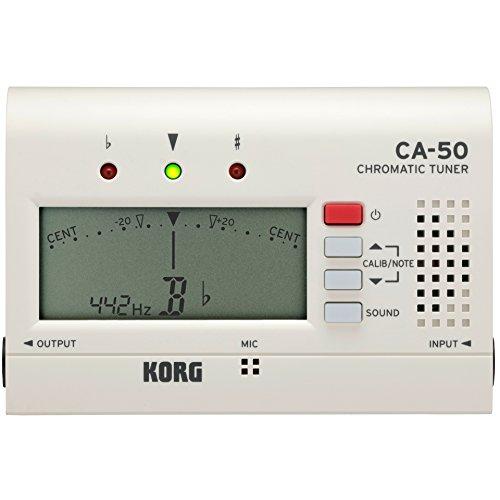 Korg CA-50 - Afinador de bolsillo cromado