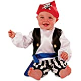 Baby / Toddler Pirate Boy Fancy Dress Costume (3-24 months) Slimy Toad