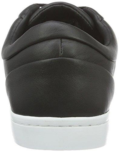 Lacoste Straightset 316 1, Baskets Basses Homme Noir - Schwarz (Blk 024)