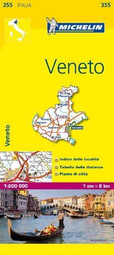 Mapa Local Italia Veneto Mapas Local Michelin
