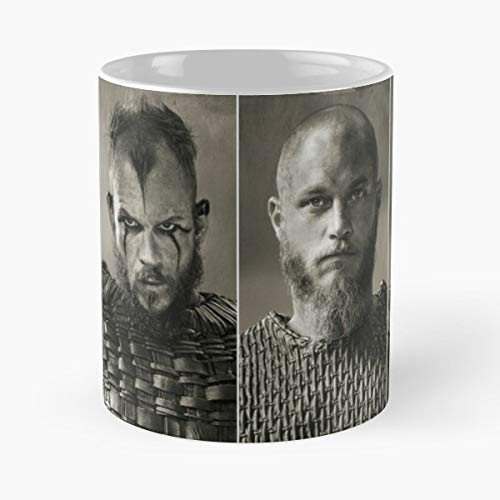 1 Dad Fathers Day Coffee Vikings Floki Ragnar Rollo Bjorn Tv Series Mug Mugs For - Best 11 oz Kaffee-Becher - Tasse Kaffee Motive
