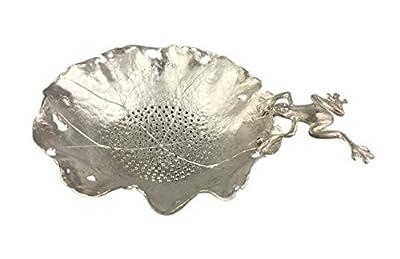 Spicy Meow Accessoires créatifs de thé de Kung Fu de videur de thé d'étain, passoires de thé de Grenouille