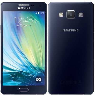 Samsung Galaxy A5 Smartphone (5 Zoll (12,60 cm) Touch-Display, 16 GB Speicher, Android 4.4) Midnight