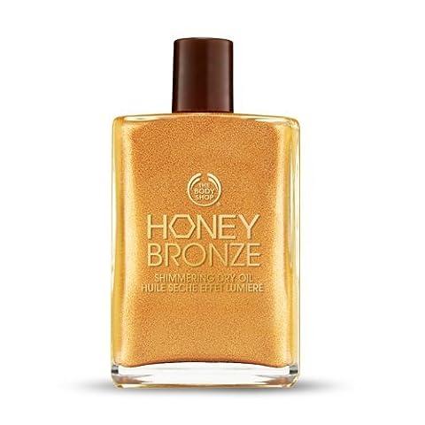 The Body Shop Honey Bronze Shimmering Dry Oil-01 Honey Kissed