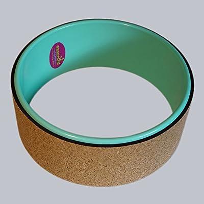 Yoga Wheel - Kork beschichtet - keinen Kunststoff auf die Haut - der neue Yoga Trend - Yoga-Hilfsmittel - Faszienroller