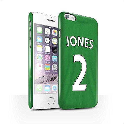 Offiziell Sunderland AFC Hülle / Glanz Snap-On Case für Apple iPhone 6S / Pack 24pcs Muster / SAFC Trikot Away 15/16 Kollektion Jones