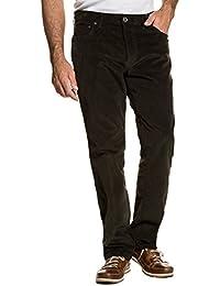 JP 1880 Herren große Größen bis 66 | Hose | Cordhose im 5-Pocket Regular Fit | Zipper & Stretch | khaki, dunkelrot, dunkelblau | 711583