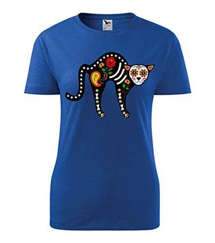 Colour Fashion -  T-shirt - Donna Cobalt Blue