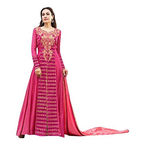 ETHNIC EMPORIUM Damen Designer indische Hochzeit Anarkali Shalwar Kameez muslimischen Eid Rakhi Festive Kollektion Kleid Anzug 2848 43483 Wie gezeigt -