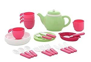 Polesie 61577 - Juego de té para Cuatro Juguetes de Cocina