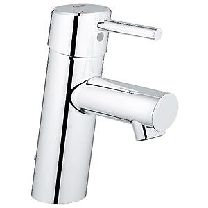 Grohe Concetto – Grifo de lavabo 1/2″ Tamaño S, color cromo (Ref.3220610E)