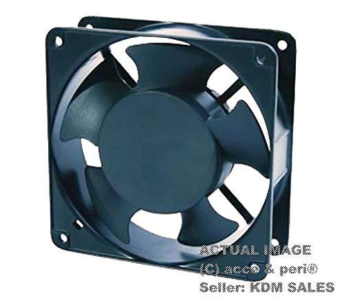 ACCE & PERITM REXNORD 120 x 120 x 38 MM AC 220V Ball AC Metal Fan 4.72″ 12CM Square – Industrial Cooling Fan Cooling Fan – 22038 A2 M W, 230V