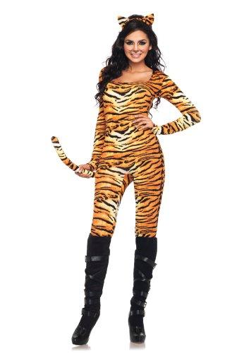 Leg Avenue 83895 - Wild Tigress Kostüm Set, 2-teilig, Größe XL, (Tigerin Kostüm)