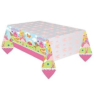 Amscan 5716232,37X 2,59M Woodland Princess plástico funda para mesa