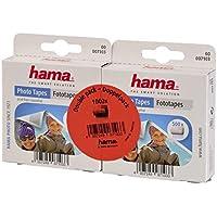 Hama 007103 - Nastro adesivo per foto, Trasparente, 2 Pezzi