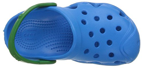 Crocs Swiftwater Clog, Sabots Mixte Enfant Bleu (Ocean/Kelly Green)