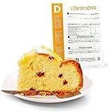 Minceur D - Cake hyperprotéiné aux fruits préparation minute - Pochette de 7 sachets MinceurD