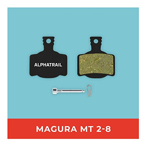 Magura Bremsbeläge MT-2 MT-4 MT-S MT-6 MT-8 Typ 7 für Fahrrad Scheibenbremse I Hohe Bremsleistung I Langlebiger & Passgenauer Bremsbelag I Organischer Belag