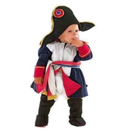 Deluxe costume vestito carnevale bambino napoleone ufficiale 12 18 24 mesi 1 2 anni bambino (18 mesi)