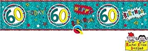 Rachel Ellen- Pancarta de fiesta, Multicolor (25127)