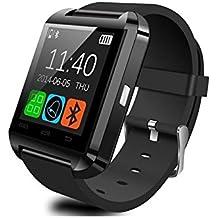 Reloj Inteligente Smartwatch Smart Watch con Bluetooth Color NEGRO para Deporte Ciclismo y Running Bicicleta 4316