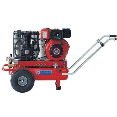 Speroni - Motocompressore aria TTD 2242/550 Airmec - 550LT/MIN Professionale compressore con motore a scoppio