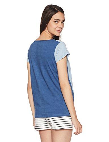Cherokee-Womens-Slim-Fit-Cotton-Top-273078241LT-BlueLHS