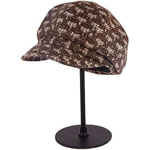 Retrò moda autunno inverno lana Fedora Hat