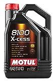 MOTUL 1028708100- Aceite de Motor X-Cess, 5 W-40, 5 L.