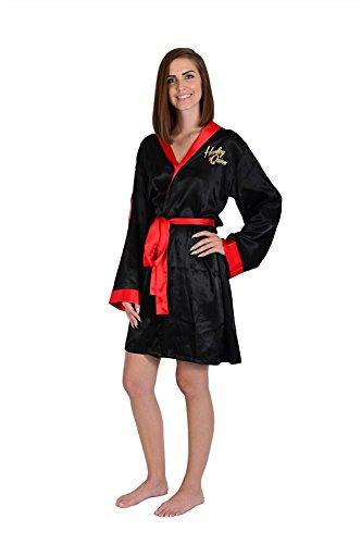 DC Bombshells Harley Quinn Women's Satin Robe (Dc Women's Harley Quinn Kostüm)