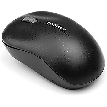 TeckNet Mini Mouse inalámbrico, Ratón Inalámbrico Óptico 2.4G USB con 1200 dpi, 3 Botones para Windows Vista / 7/8/10 y PC, Computadora Portátil, Mac