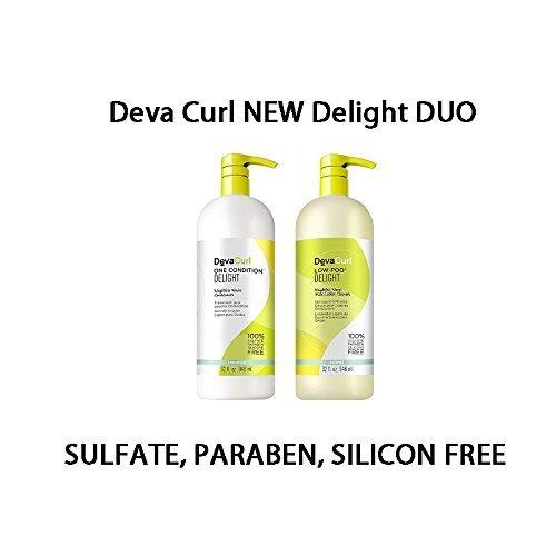 Deva Curl Delight faible Poo et Duo One-État, 32 Ounce