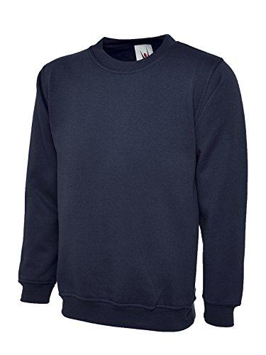 Uneek 300 G classico a girocollo-Shirt Navy