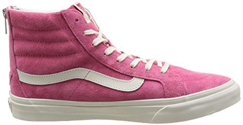 Vans Sk8-Hi, Sneakers Hautes Mixte Adulte Rose (Scotchgard/Pink)