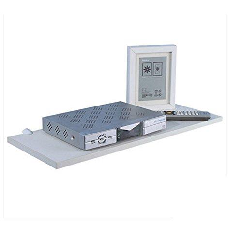 Nan divisori per le parole rastrelliere da parete set-top box rack parete attrezzata soggiorno tv sfondo muro decorazioni mensola (dimensioni : 60*25cm)