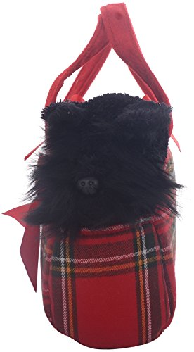 Aurora World 8-inch Fancy Pal Scottie in Tartan Bag